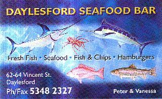 Daylesford Seafood Bar PH 03 5348 2327
